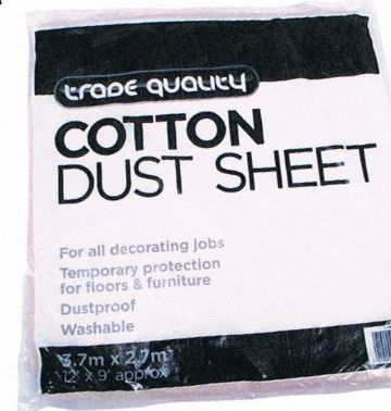 Cotton Dust Sheet